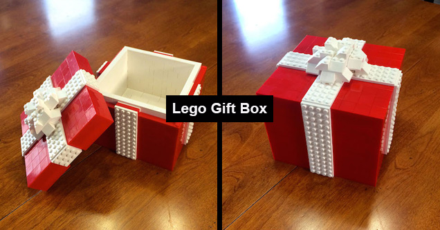 Why not make the outside of the gift as exciting as the inside? Here are some people who thought about the box outside of the box.