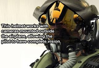 pilot helmet with reflective shield