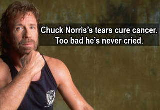 Chuck Norris is an Internet phenomenon, here's why.