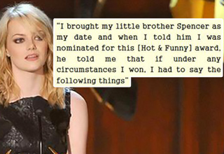 Her acceptance speech at the Guys' Choice Awards will show you why.