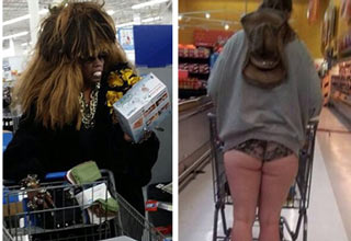 Going to walmart is like taking a safari through the jungle.