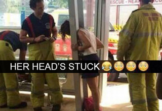 Tragic but funny pics of people having very bad days.