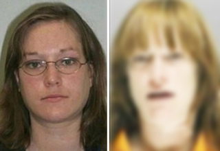 Woman has been detained over 20 times in ten years, yet the more startling factor is her transformation.