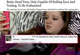 The hilarious result of people on Facebook thinking The Onion is real.