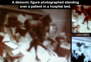 Chilling photographs that captured the paranormal.