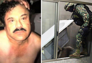 "Mexico's drug kingpin Joaquin ""El Chapo� Guzman lived on the run, staying well ahead of authorities."