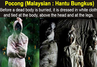 There's something very creepy about Indonesian ghosts.
