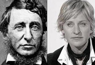 I think that you will agree that this is definitive proof. Amazing celebrity lookalikes from the past.
