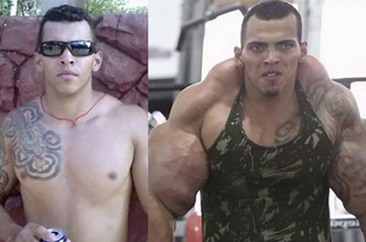 Meet amateur bodybuilder Romario Dos Santos Alves...