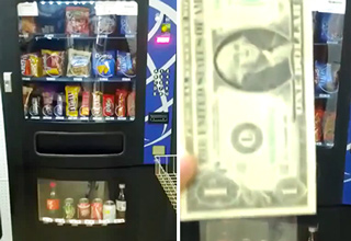 Guy Gives Detailed Instructions On How To Hack a Vending