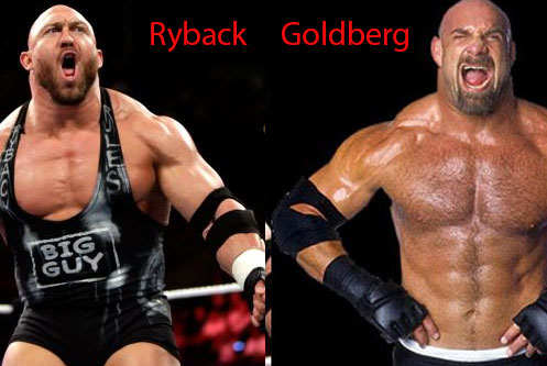 Wrestlers with a persona that is not entirely original...