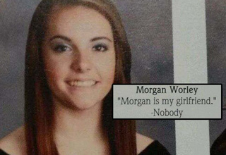 A collection of silly, awkward and wtf quotes actually used for yearbooks.