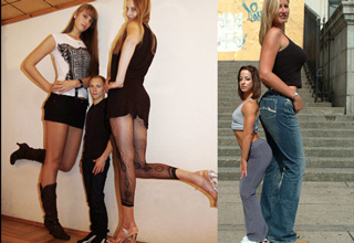 Are these tall women too much for you?