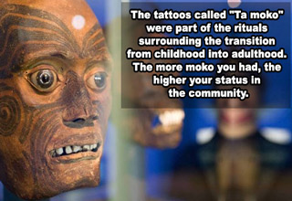 Tattoos from a very long time ago that have stood the test of time.