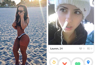 Weird, creepy and hilarious Tinder users.