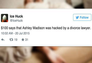 The popular affair website was recently hacked, here's how twitter responded.