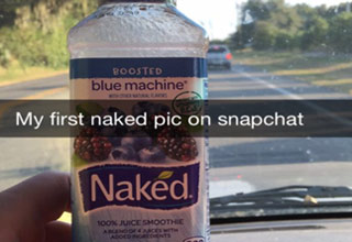 Clever people and their funny snapchats.