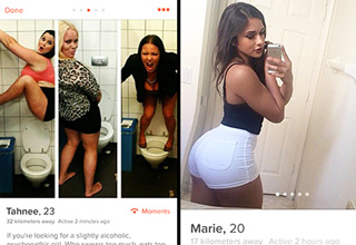 Weird, creepy, and hilarious people you can meet on Tinder.
