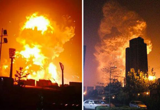 "The biggest pieces of info so far about China's massive event. <a href=""http://ebaum.it/tianjin_aftermath"" target=""_blank"">Click here</a> for photos of Tianjin aftermath and <a href=""http://www.ebaumsworld.com/video/watch/84695768/"" target=""_blank"">click here</a> for footage of the original explosion."
