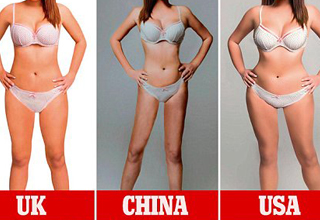 Designers from 18 countries around the globe were asked to retouch an image to portray their country's ideal female body.