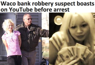 We never hear about the smart criminals...
