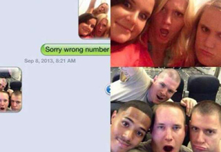Texts to the wrong person at the wrong time!