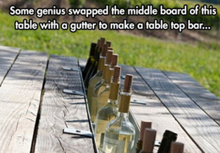 Ingenuity and boredom can lead to some awesome ideas!