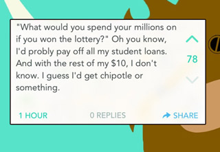 Here are a couple hilarious yaks that hit almost too close to home: