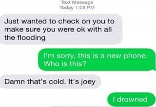 17 post-breakup texts that will have you LOLing.