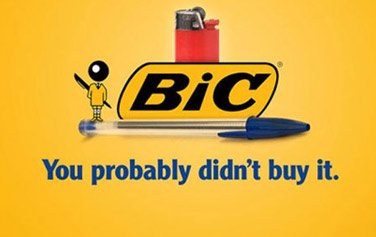 Honest slogans and advertising from popular brands and companies.