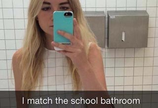 Awesome, funny, weird and clever snapchat pics that will brighten up your day.