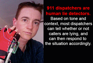 Some personal information from 911 dispatchers.