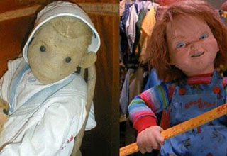 "Did you know that Chucky from ""Child's Play"" was inspired by a real life haunted doll from over 100 years ago? Wait until you hear this terrifying tale."