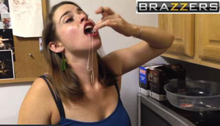 Adding the Brazzers logo makes everything a little dirtier.