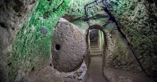 Ancient Underground City Discovered In Turkey Is The Work Of Master Craftsmen