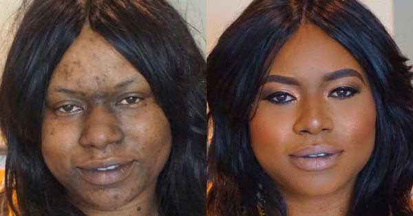 These Before And After Makeup Photos Will Blow Your Mind Wow