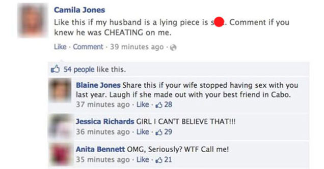 The Most Entertaining Public Breakups On Facebook - Facepalm