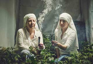 These nuns know how to grow the bomb kush.