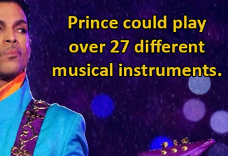 The world recently lost a musical legend.  Here are some interesting things about him you probably didn't know.