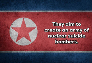 There are many secrets held by North Korean military but these are not among them.