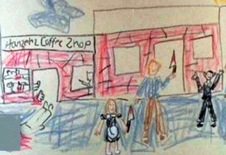 You can tell much about a child's home life from their artwork.