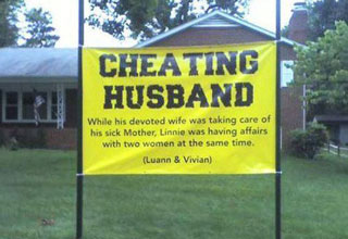 People who know how to deal with cheaters . . .