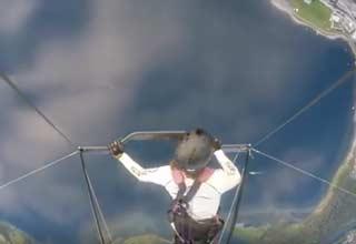 Horrifying Moment As Hang Glider Cheats Death - Wow Video | eBaum's