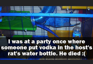 It's party stories like this that'll make you rethink your next FB party invite.
