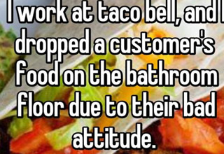 Employee confessions that may turn you away from fast food for good.