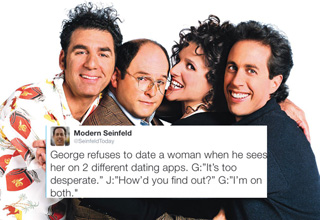 @SeinfeldToday is killing it on Twitter.