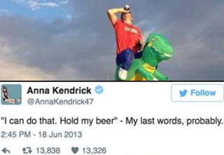 These funny tweets about booze are sure to make you chuckle.   Don't party too hard this weekend or you'll end up like these people!