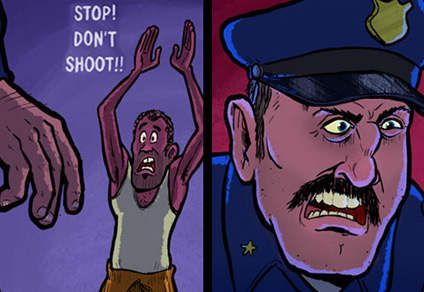 "Short comic strips by  <a href=""http://ebaum.it/ToonHole"" target=""_blank"">Toonhole</a>  that end quite unexpectedly!"