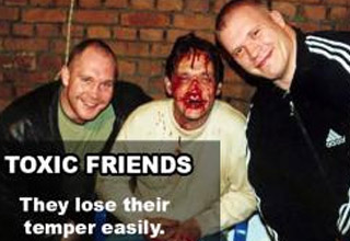 Sometimes your closest friends aren't really  your friends at all.