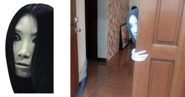 A Very Simple Yet Terrifying Halloween Prank Kit Gallery